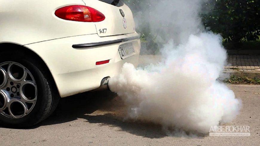رنگ دود خودرو نشانه چیست؟