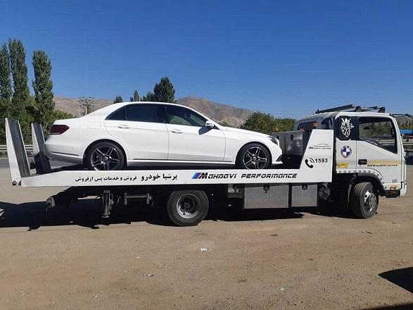 امداد خودرو کوزه کنان خودروبر