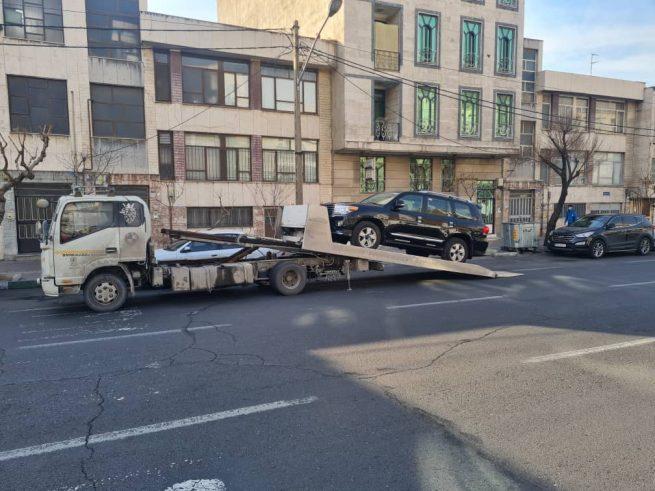 امداد خودرو قیر